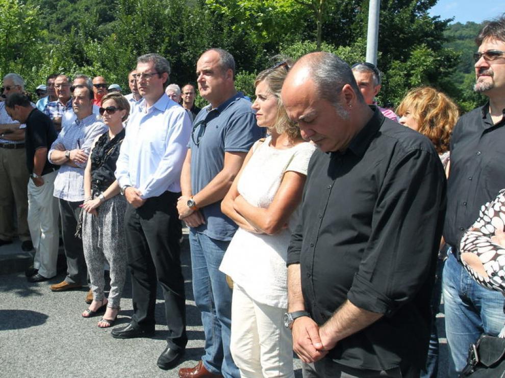 Acto en memoria de un empresario asesinado por ETA.