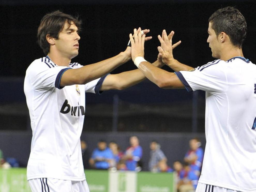 Partido entre el Real Madrid y el AC Milan