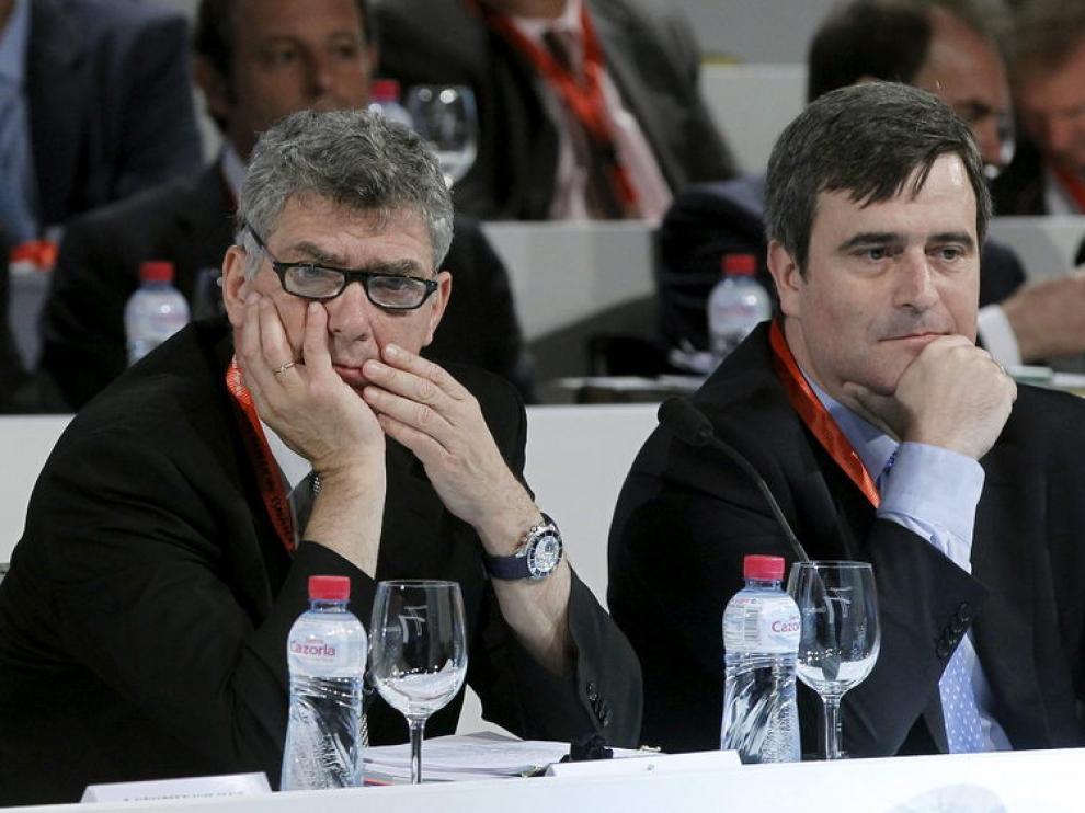 Imagen de la pasada Asamblea de la Federación española de fútbol