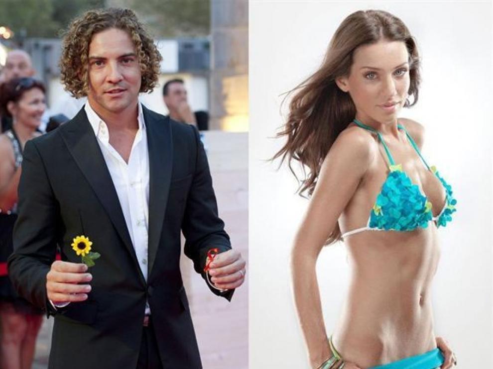 La modelo sevillana y Bisbal llevan tres meses juntos.
