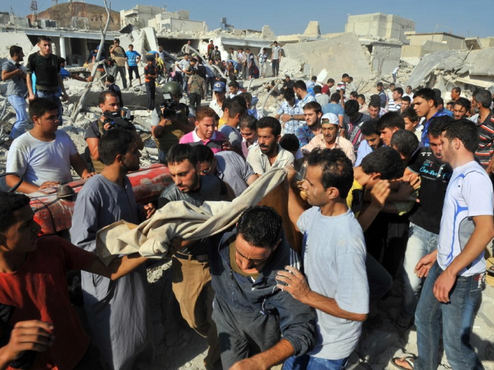 La violencia continúa en diferentes ciudades de Siria
