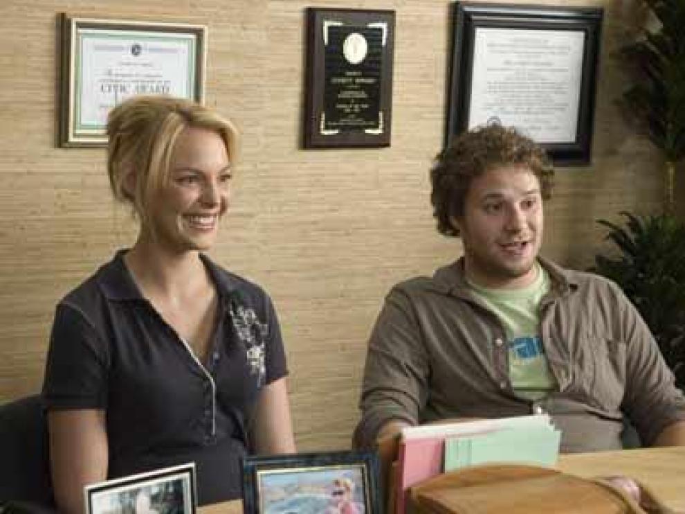 Allison y Ben, ambos protagonistas de la película