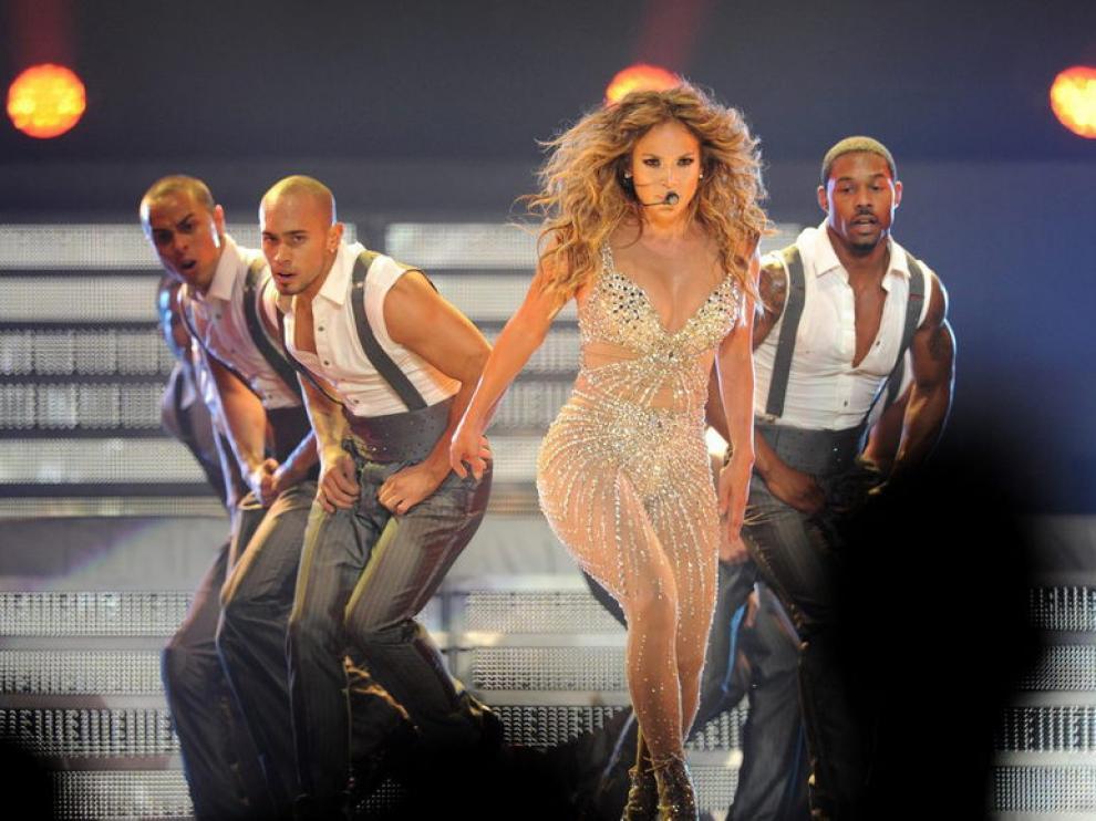 Concierto de Jennifer Lopez en Las Vegas