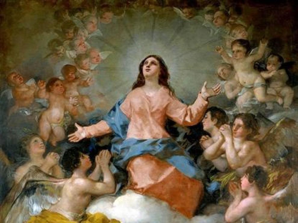 'Asunción de la Virgen' de Francisco de Goya