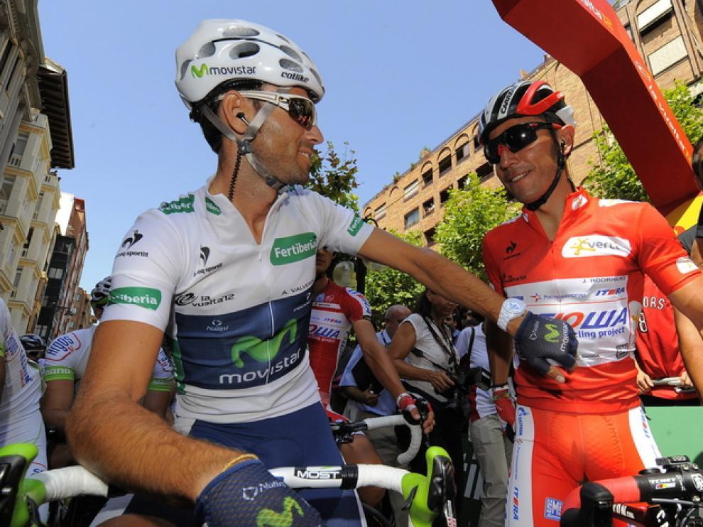 Purito Rodríguez y Alejandro Valverde
