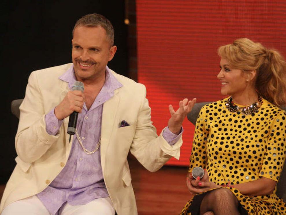 Miguel Bosé y Paulina Rubio concursarán en el programa 'La Voz México'.