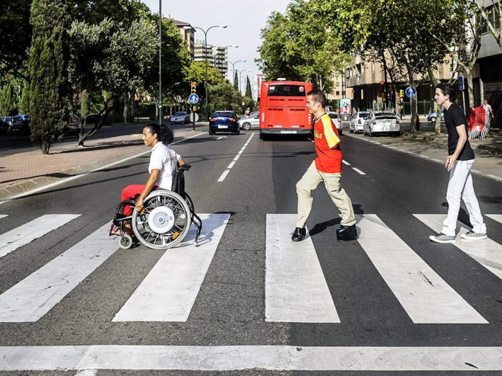 Los tres aragoneses que participarán en los Juegos Paralímpicos