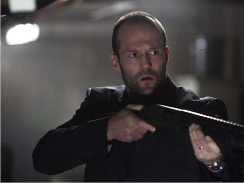 Jason Statham en un fotograma de la película