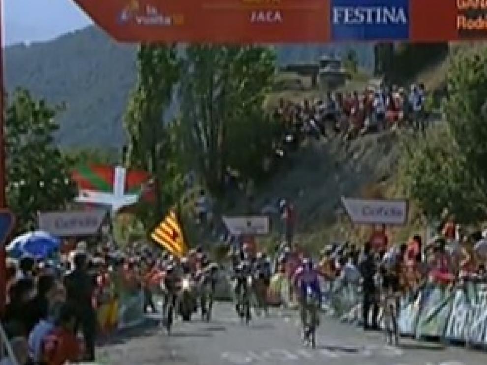 La Vuelta a España a su paso por Aragón
