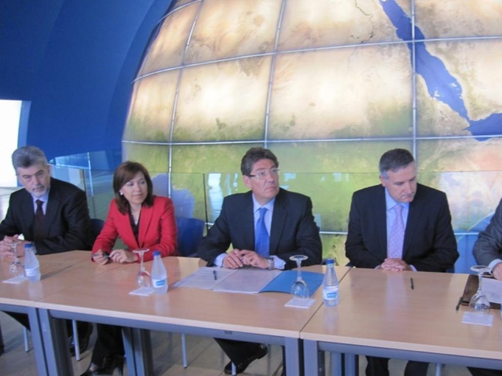 Constitución del patronato de la Fundación Centro Astronómico Aragonés