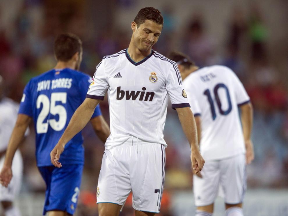 Cristiano Ronaldo se lamentaba por el resultado