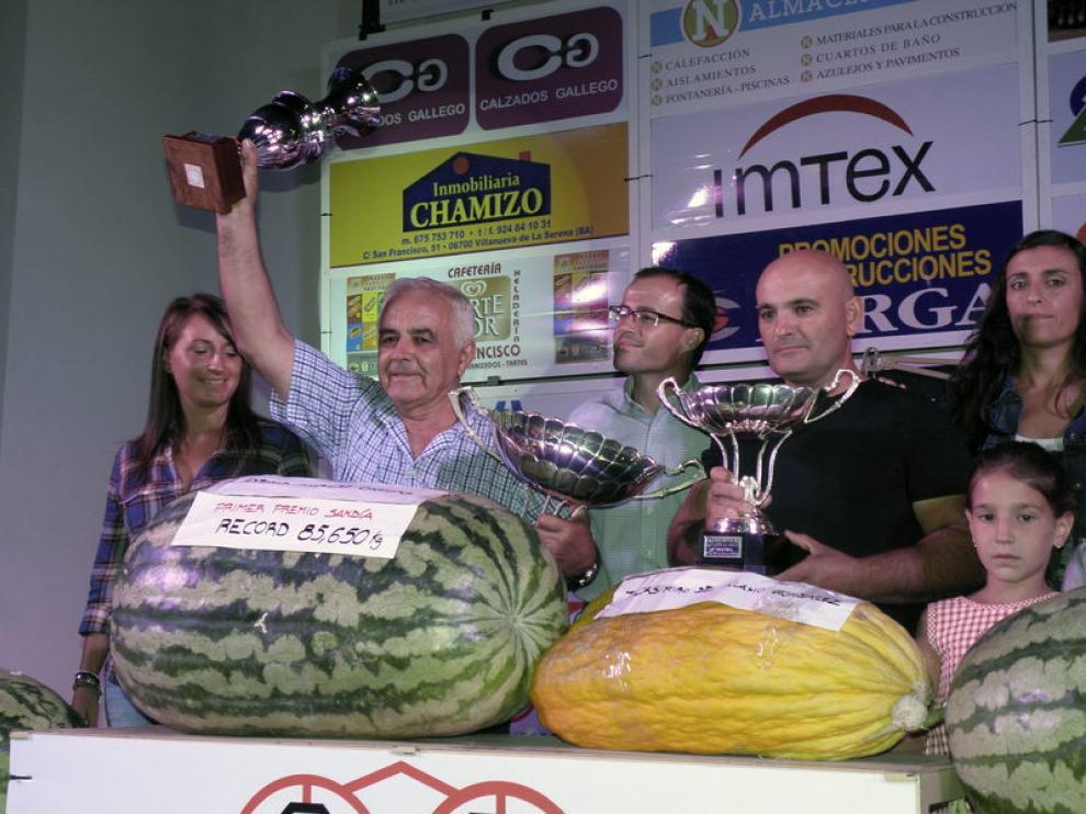 Los ganadores del certamen
