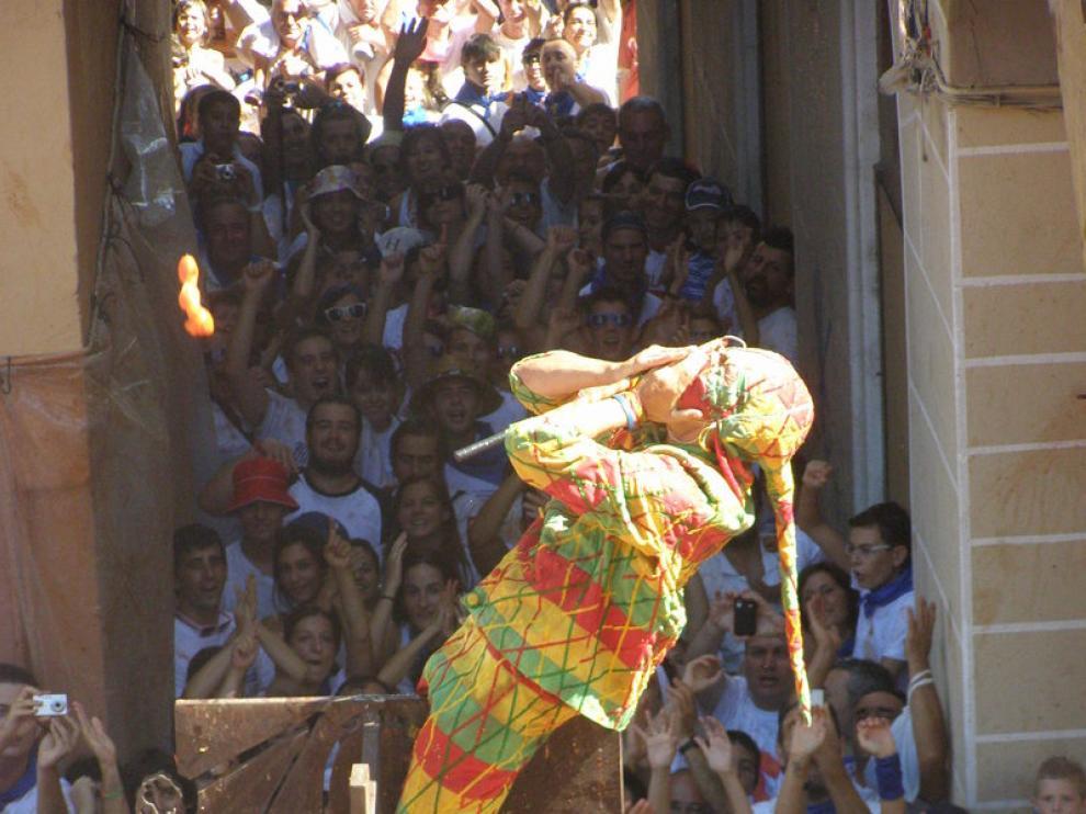 El Cipotegato abre las fiestas de Tarazona