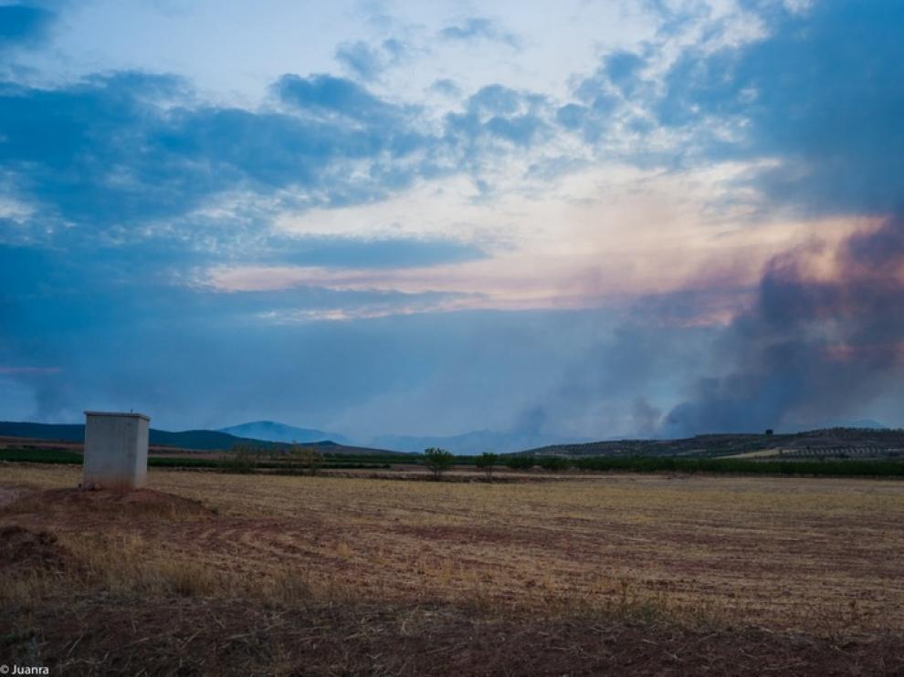 El incendio de Calcena