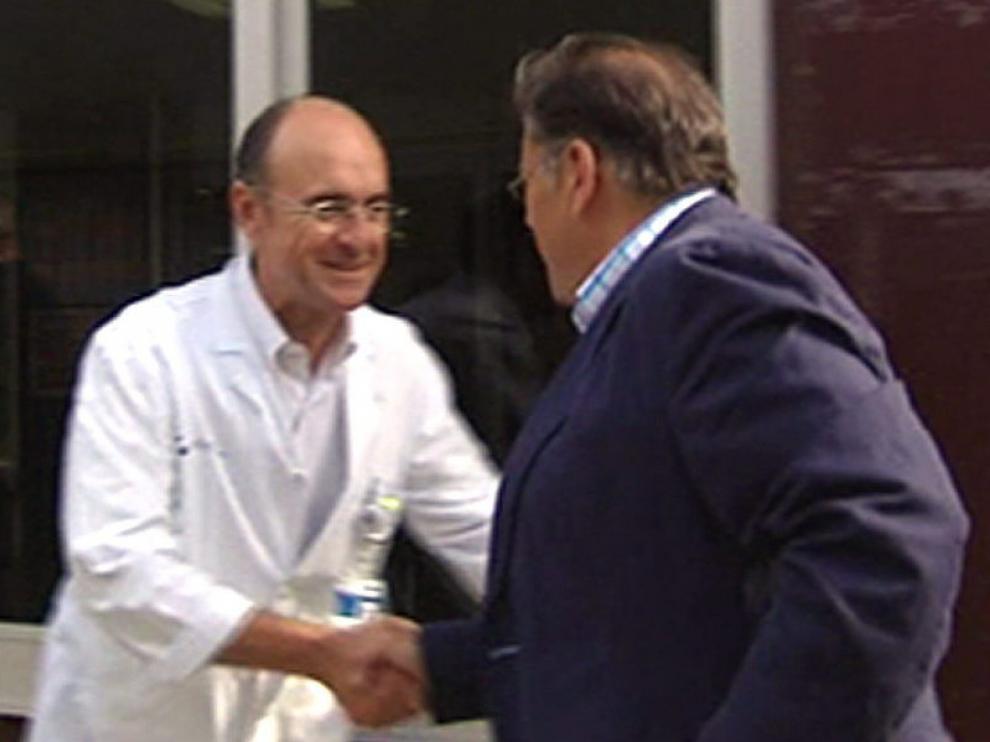 El juez Castro se ha reunido con el médico de Bolinaga