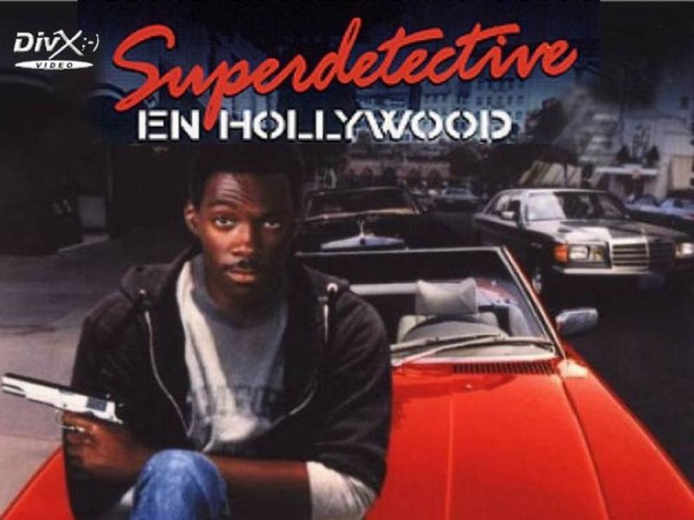 Carátula de la película 'Superdetective en Hollywood'