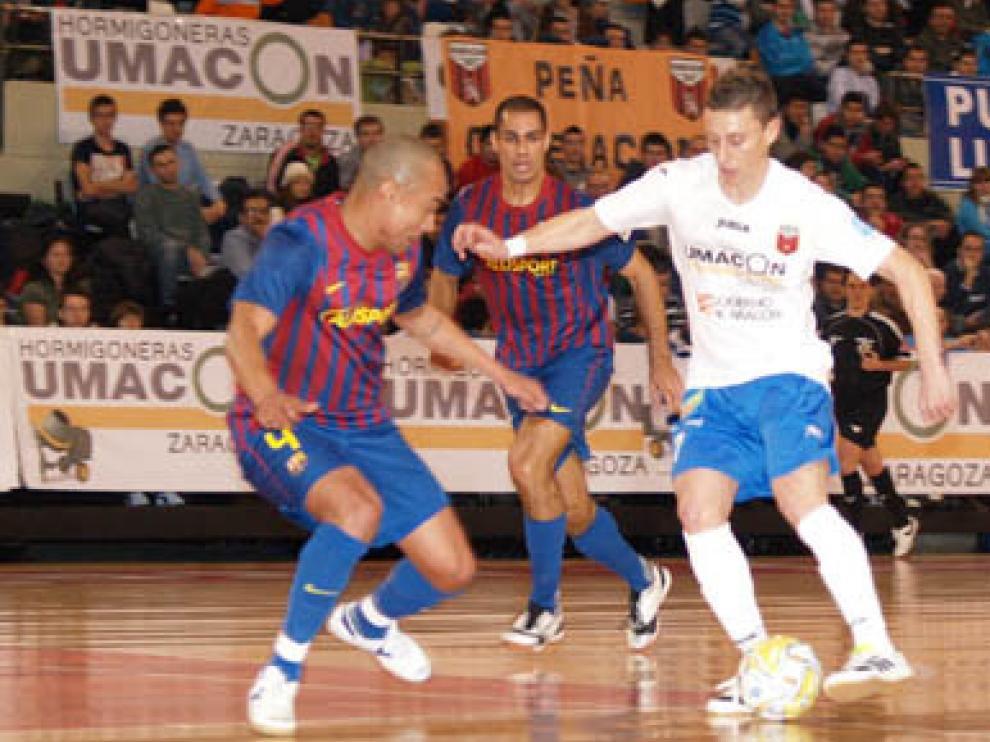 Umacón Zaragoza y Pozo Murcia se enfrentaron en los 'play off' de la pasada temporada