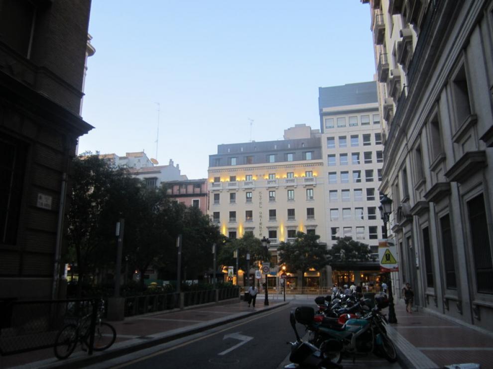 Vista general desde el Colegio de Escolapias Calasanz, junto al Coso.