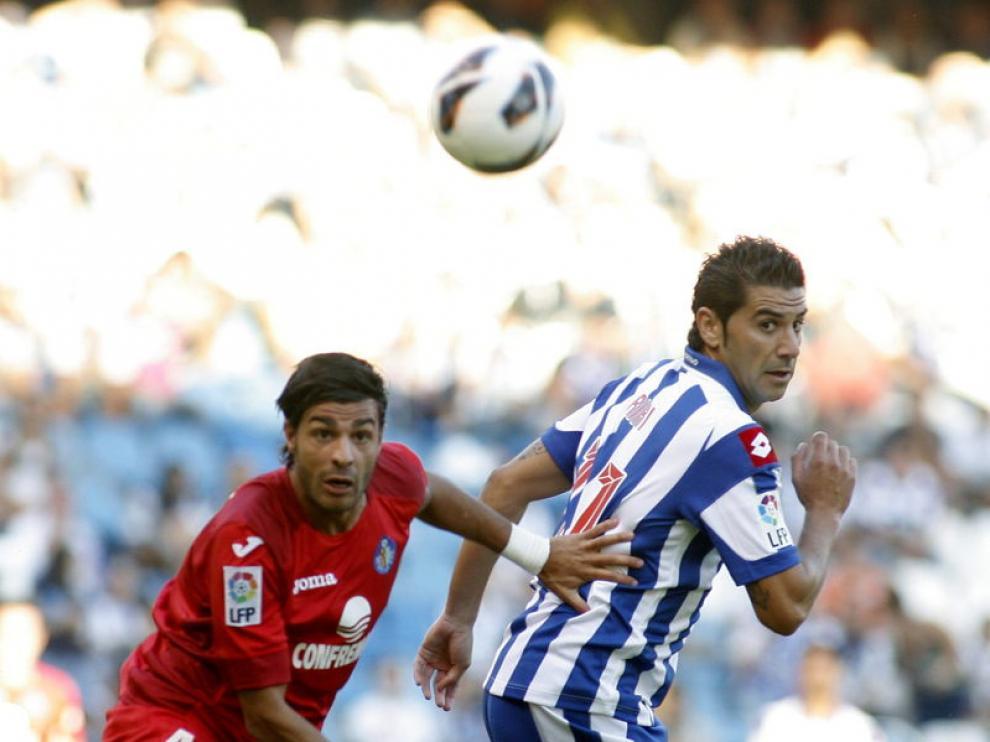 Encuentro entre el Getafe y el Deportivo