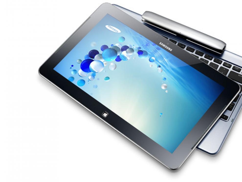 Los nuevos tablets de Samsung con W8