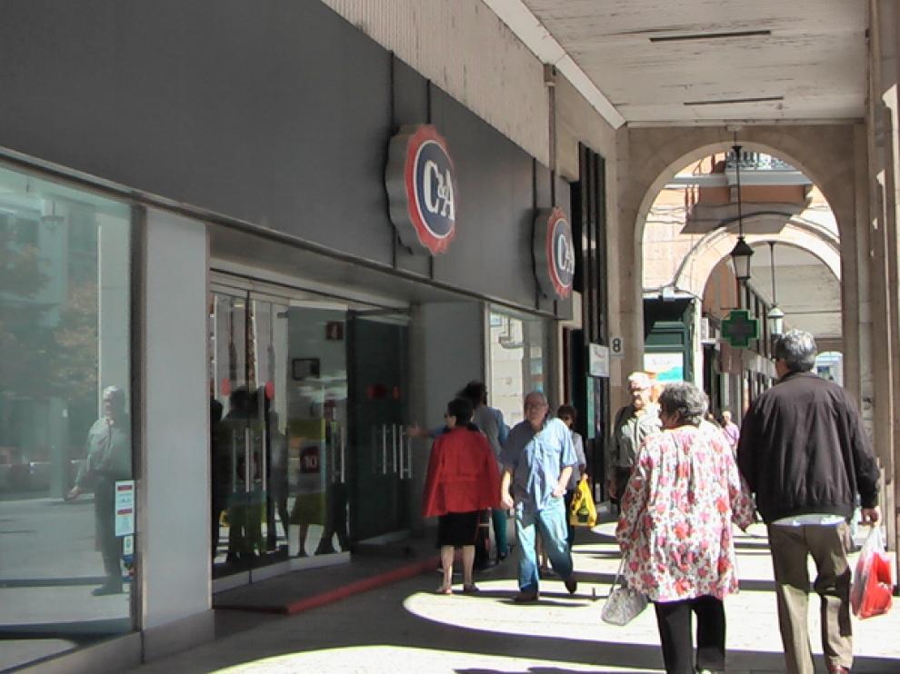 La caída del consumo ha golpeado al tejido empresarial de Aragón