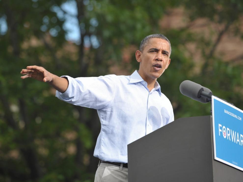 Obama ha criticado a Romney por no hablar sobre sus propuestas.