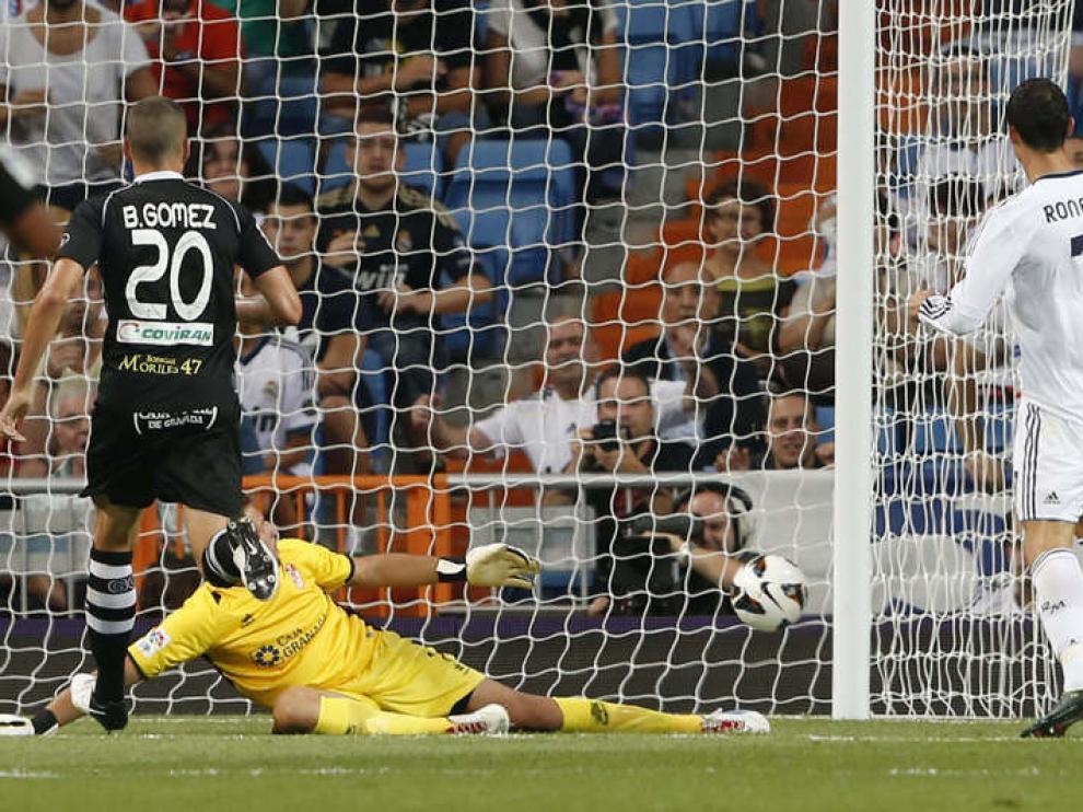 El portugués fue la clave del partido con dos goles.