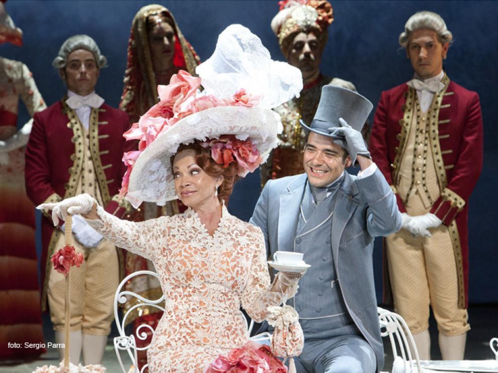 Paloma San Basilio interpretando 'My Fair Lady'