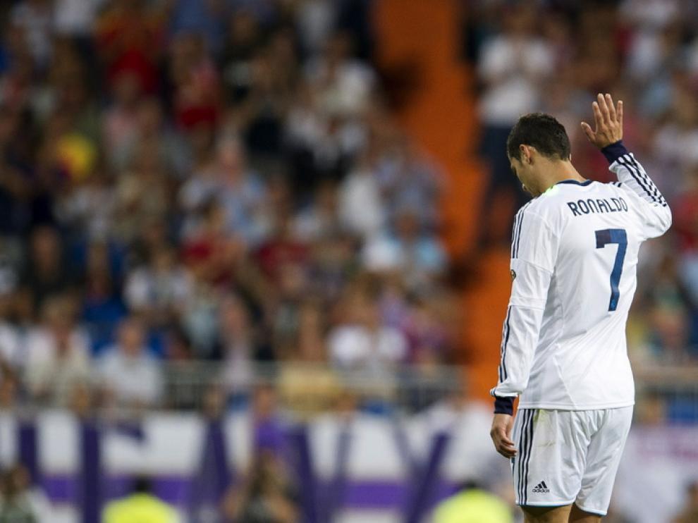 Cristiano Ronaldo, en el partido ante el Granada
