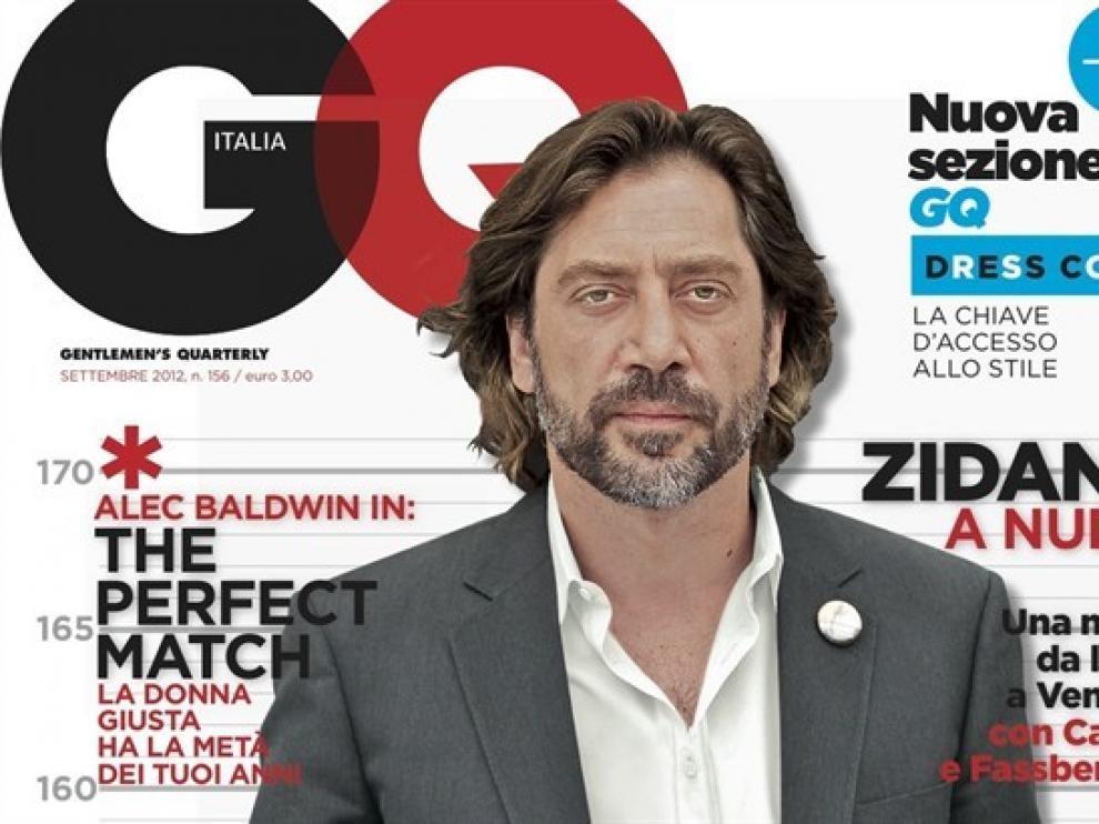 Javier Bardem posa para GQ Italia