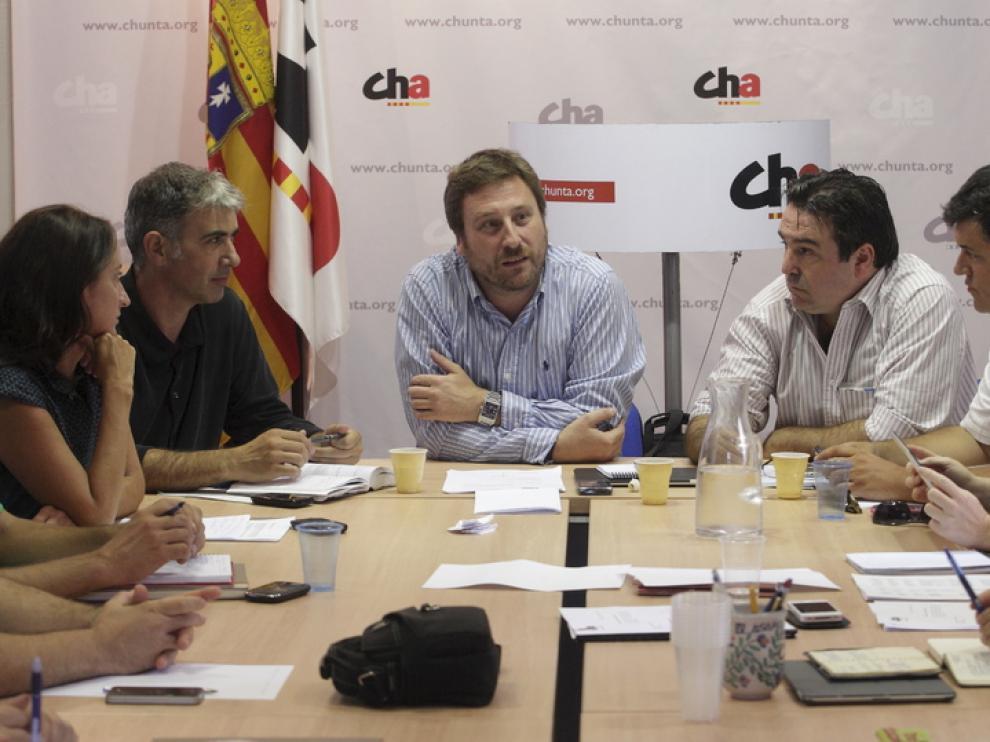 CHA se reúne en el inicio del curso parlamentario