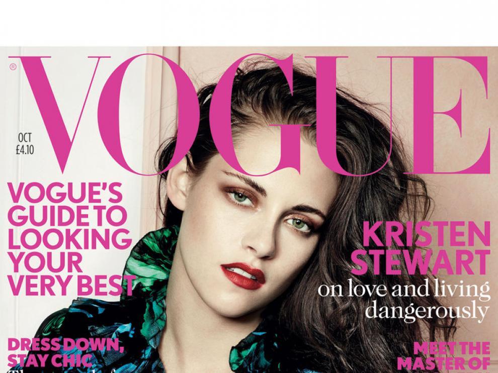 Portada de la versión inglesa de la revista 'Vogue'