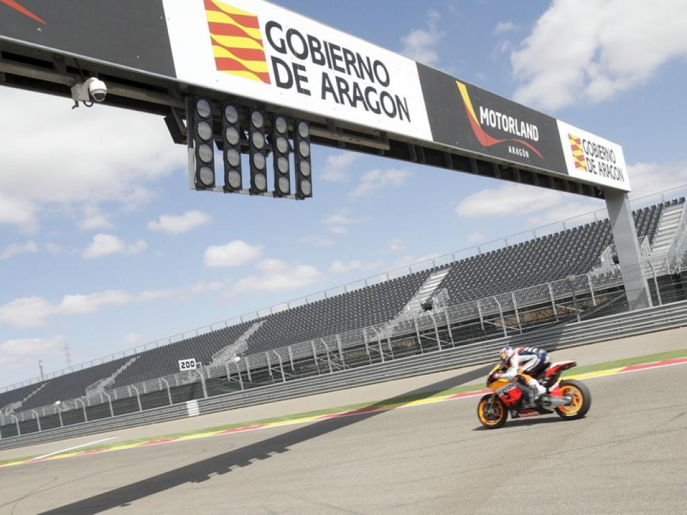 Circuito de Motorland, en Alcañiz