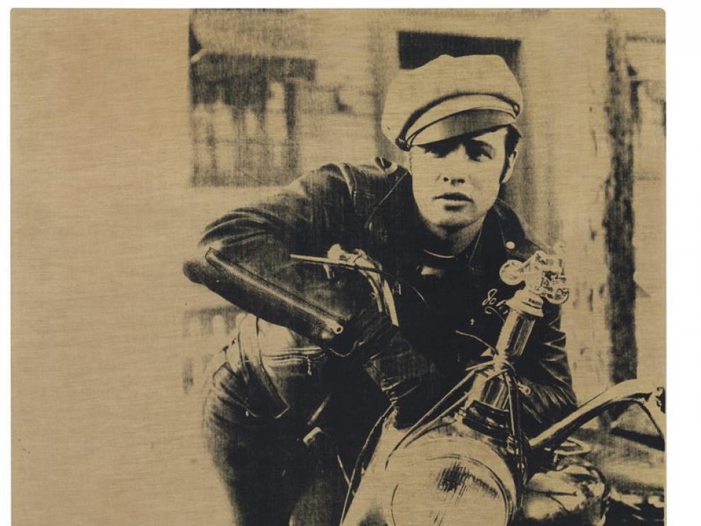 """Warhol eligió esta imagen como """"el arquetipo del encanto y el glamour""""."""