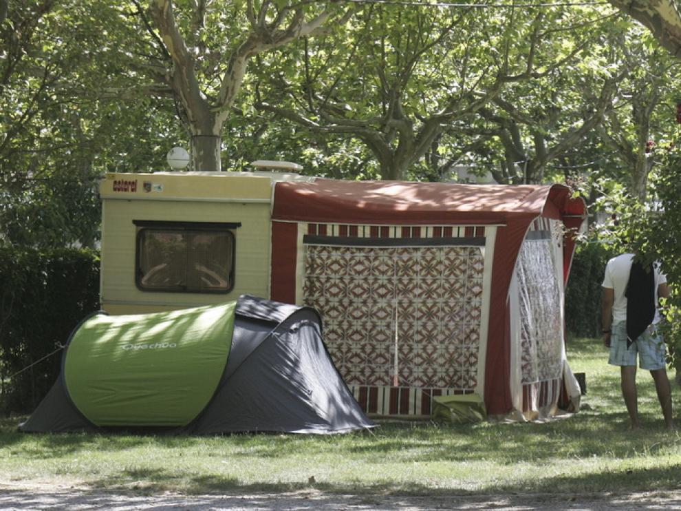 Campin de San Jorge, en Huesca.
