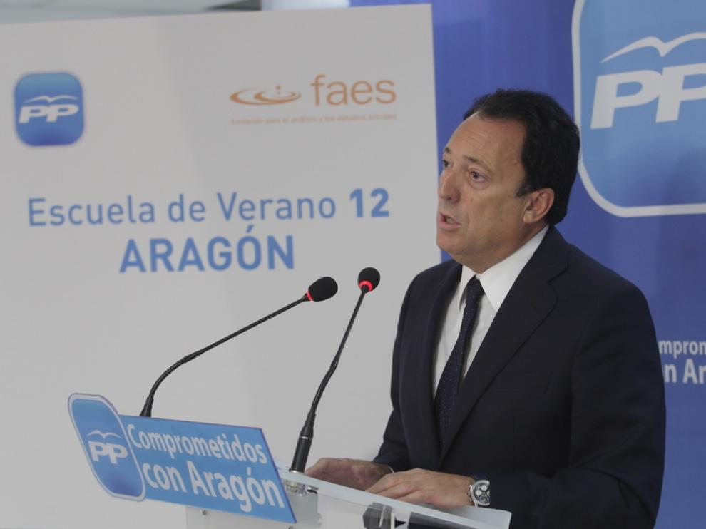 Octavio López en rueda de prensa.
