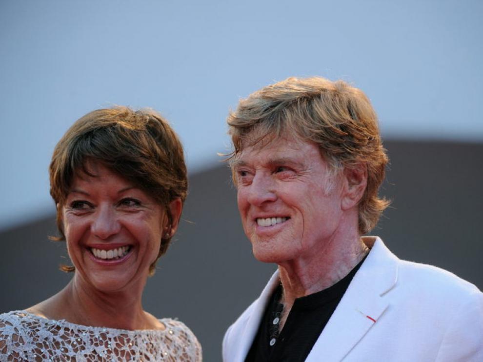 El actor estadounidense llegó acompañado de su esposa, Sybille Szaggars.