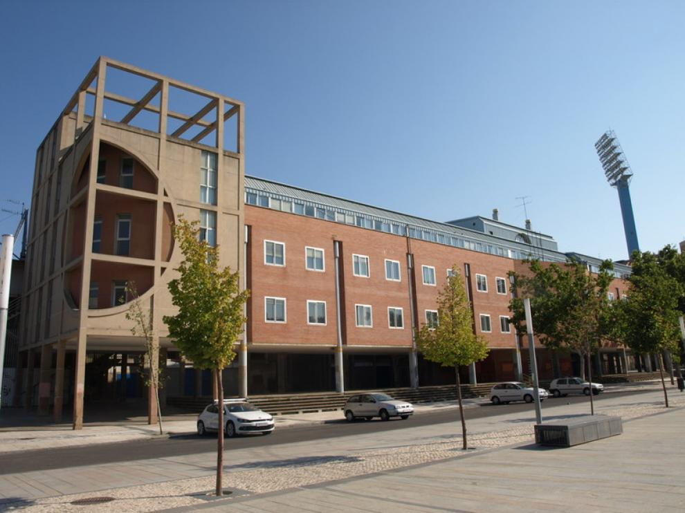 El edificio lleva cinco años sin ser usado.