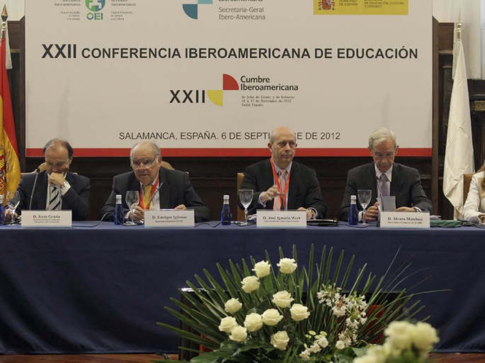 Wert en la XXII Conferencia Iberoamericana de Ministros de Educación.