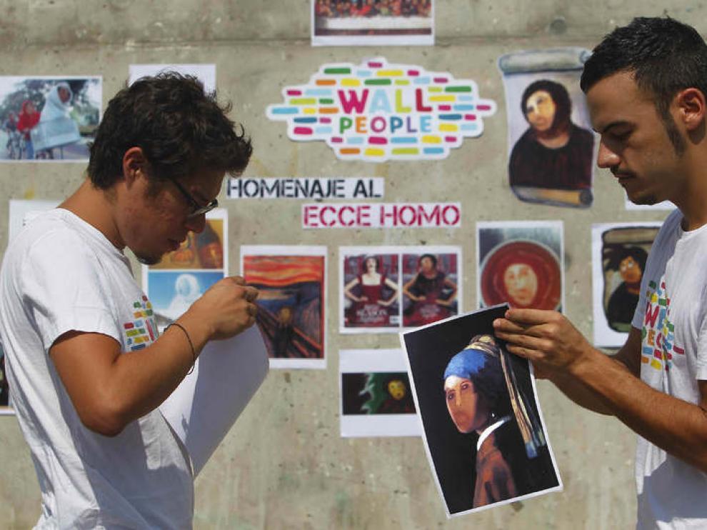 Exposición en Barcelona sobre el eccehomo de Borja.