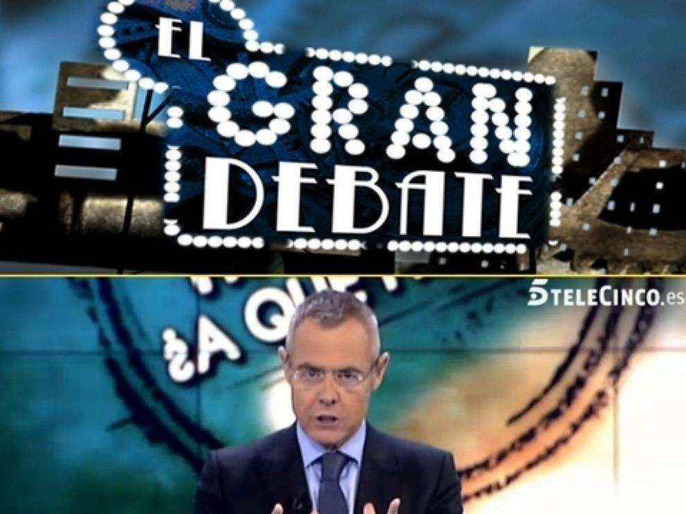 Jordi González presenta 'El gran debate'.