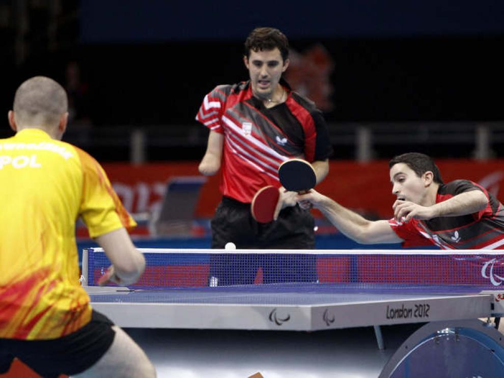 Jorge Cardona y  José Manuel Ruiz perdieron ante Polonia