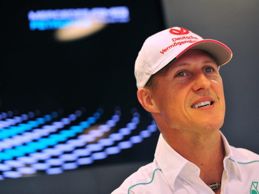 Foto de archivo de Michael Schumacher
