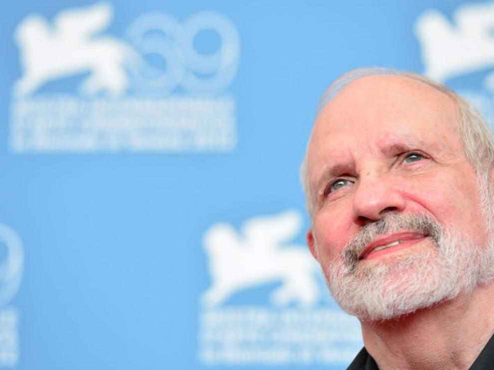 El director Brian de Palma en la Mostra