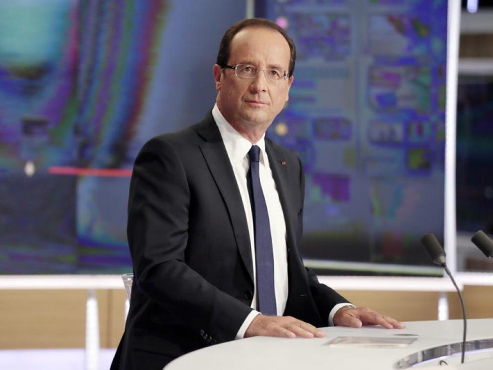 El presidente francés, el socialista François Hollande
