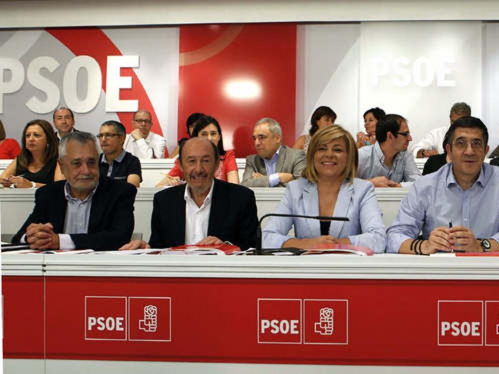 Rubalcaba ha presidido su primer Comité Federal