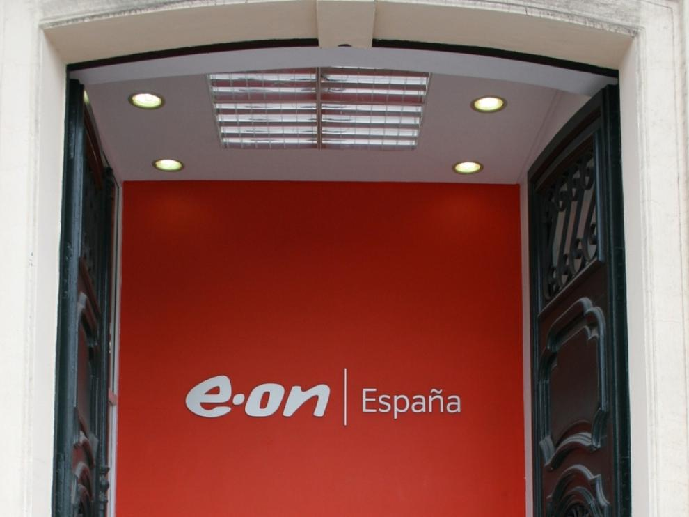 Oficina comercial de la compañía de electricidad y gas E.ON