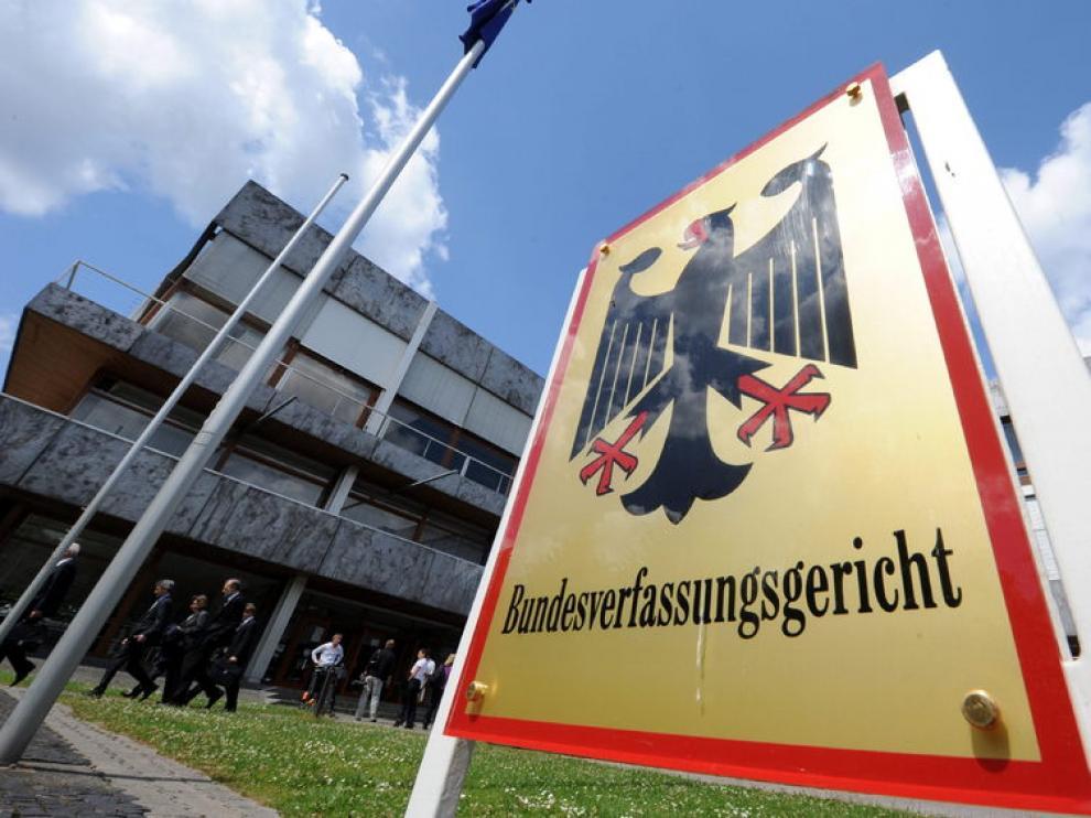 Sede del Constitucional alemán, en la ciudad de Karlsruhe.