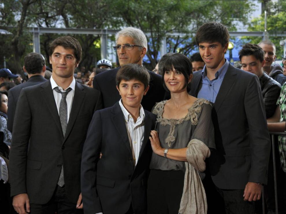 Protagonistas de 'Lo Imposible'. producida por el Grupo Mediaset España