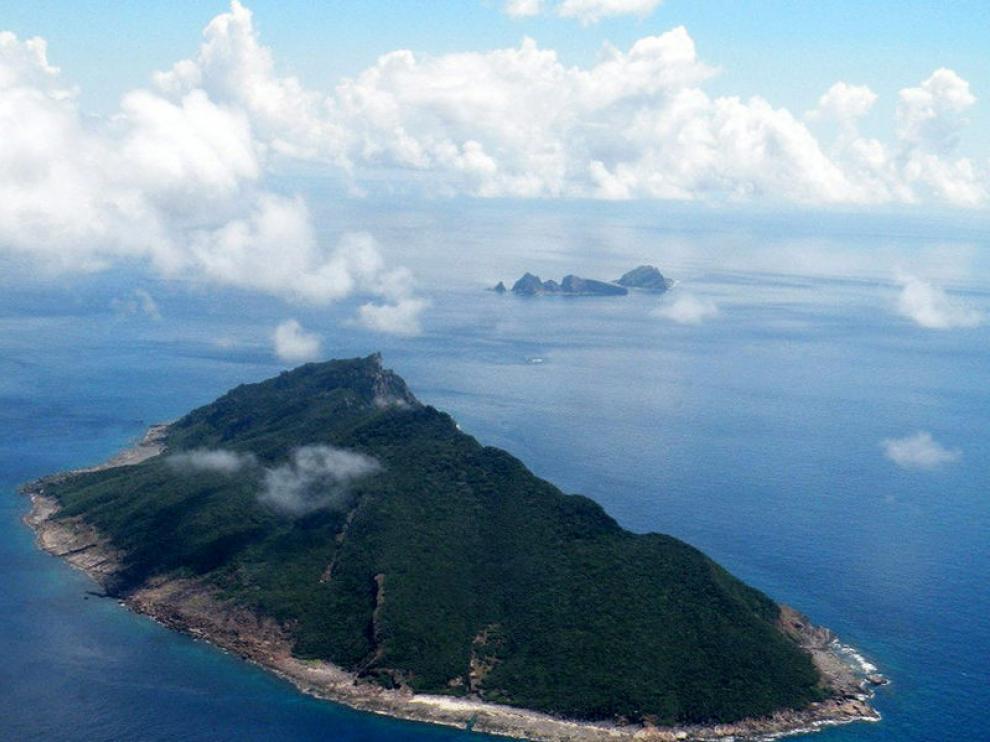 Una de las islas pertenecientes al archipiélago Diaoyu (Senkaku en japonés).